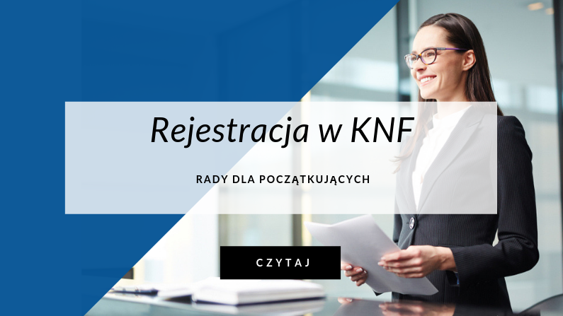 rejestracja w KNF agencje opłat